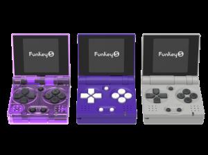 FunKey S foldable handheld Console