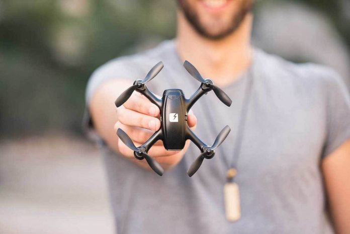 FADER Stealth Quadcopter DRONE