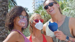 Tactika Facewear mask and sunglasses